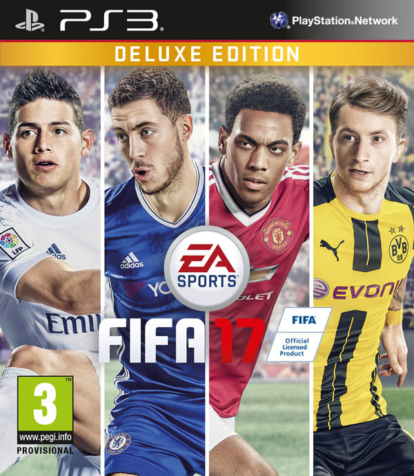 PS3 - FIFA 17 Deluxe Edition