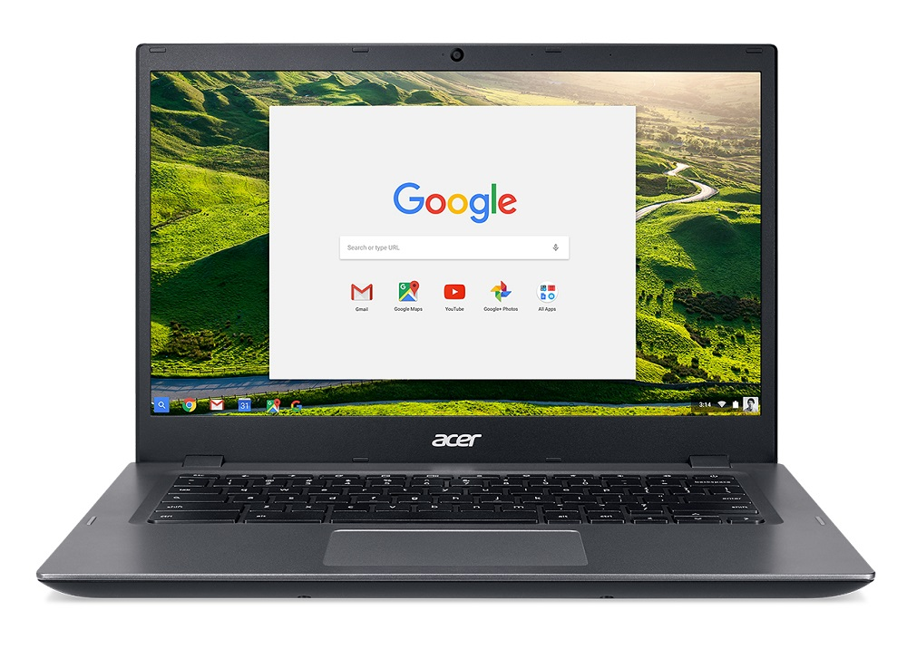 "Acer Chromebook 14 for Work (CP5-471-3451) i3-6100U/4GB+N/eMMC 32GB+N/A/HD Graphics/14"" FHD IPS matný/BT/Google Chrome/Grey"