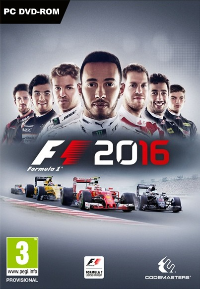 PC CD - F1 2016
