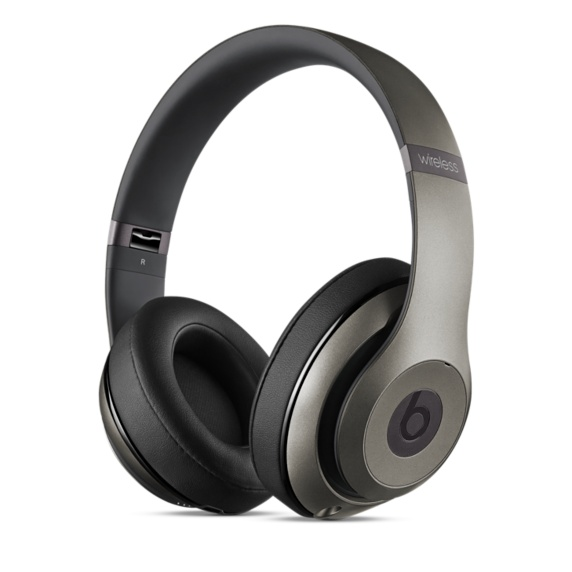 Studio Wireless Over-Ear Headphones - Titanium