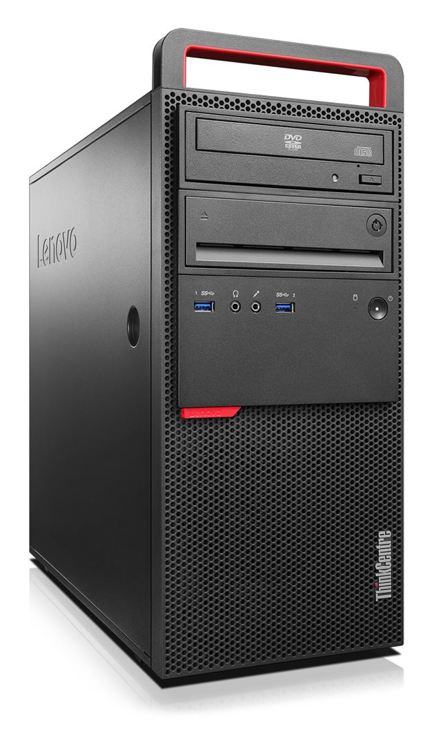 ThinkCentre M900 TWR/i7-6700/256GB SSD/8GB/GT720 2GB/DVD/Win 7 Pro + 10 Pro