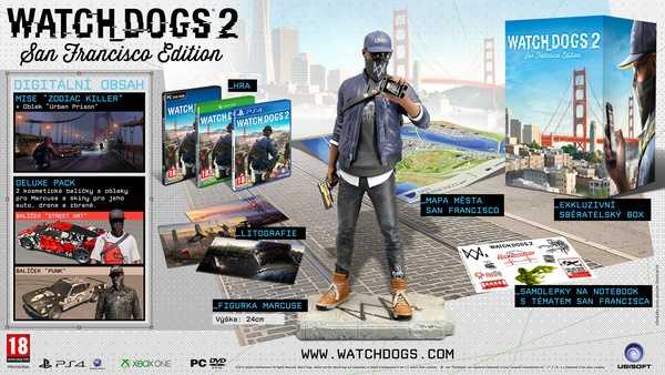 XONE - Watch_Dogs 2 San Francisco Ed. - od 15.11.