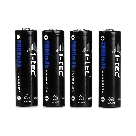 i-Tec nabíjecí baterie AA 2800 mAh, 4 ks