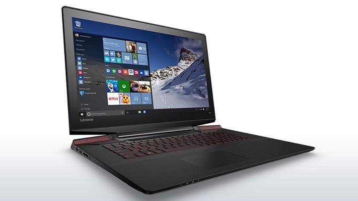 """Lenovo IdeaPad Y700 i5-6300HQ 3,20GHz/8GB/128GB SSD+1TB/17,3"""" FHD/IPS/AG/GeForce 4GB/WIN10 černá 80Q00079CK"""