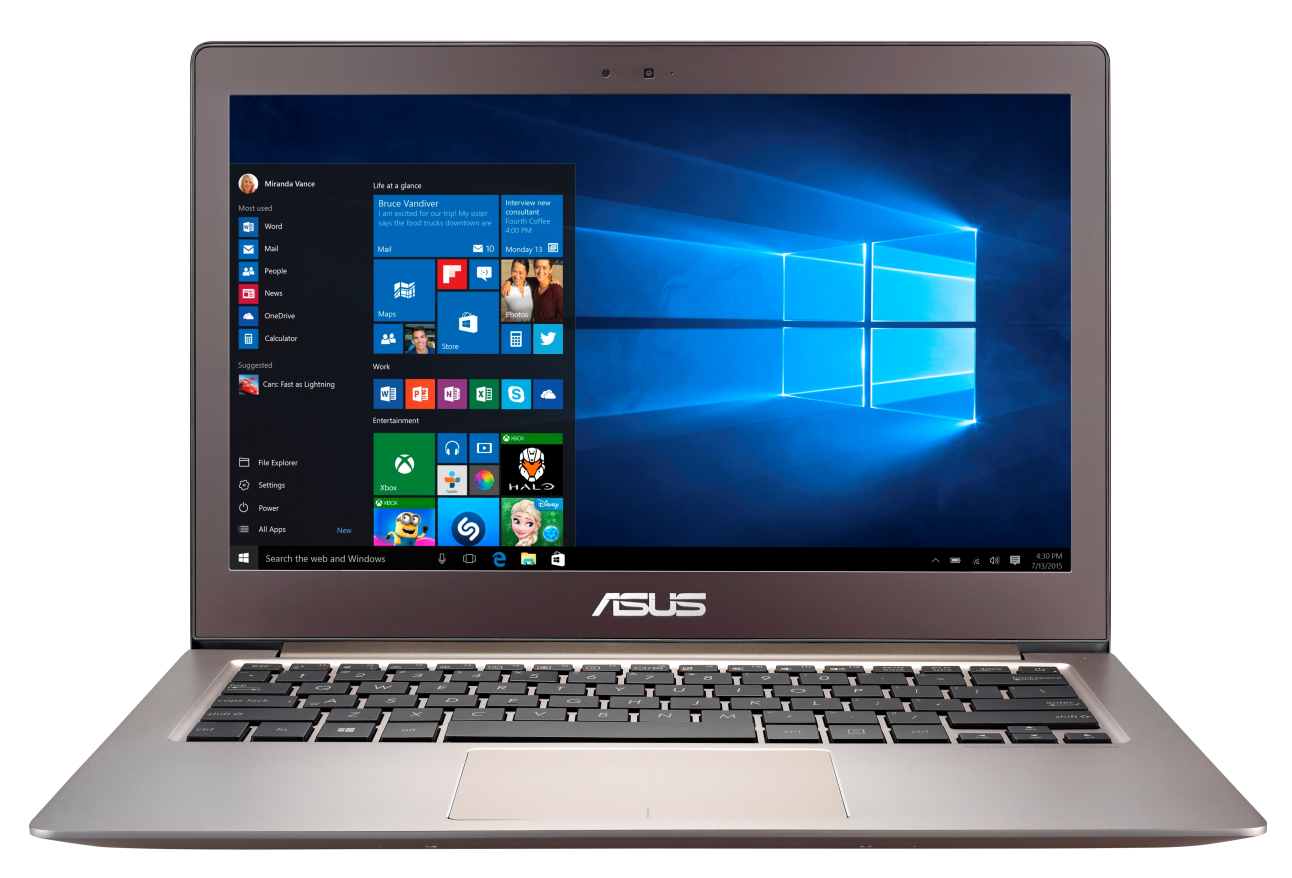 ASUS UX303UA 13.3/i3-6100U/500GB+8SSD/4G/Win10 DP