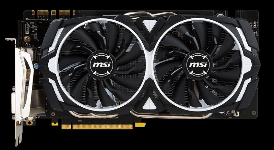 MSI GTX 1070 ARMOR 8G OC, 8GB GDDR5, 256bit, DVI-D, HDMI, 3xDP