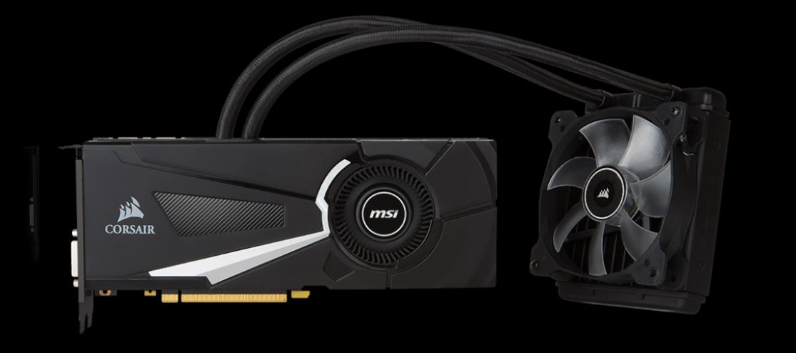 MSI GeForce GTX 1080 SEA HAWK X