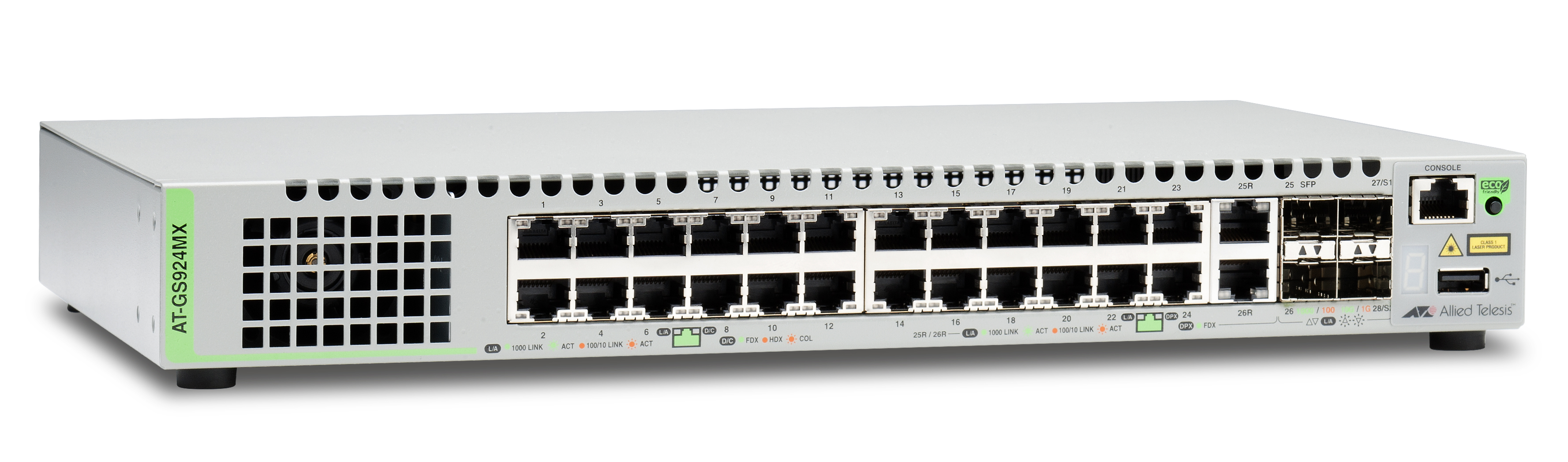Allied Telesis CentreCOM AT-GS924MX-50 1Gb switch