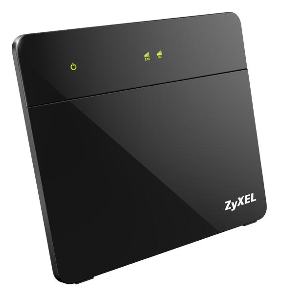 Zyxel VMG8924, VDSL2 Router, VDSL vectoring, 4xGiga LAN, 1x Giga WAN, 1300Mbps WiFi 802.11ac/n, 2x FXS (VoIP), 2x USB 2.