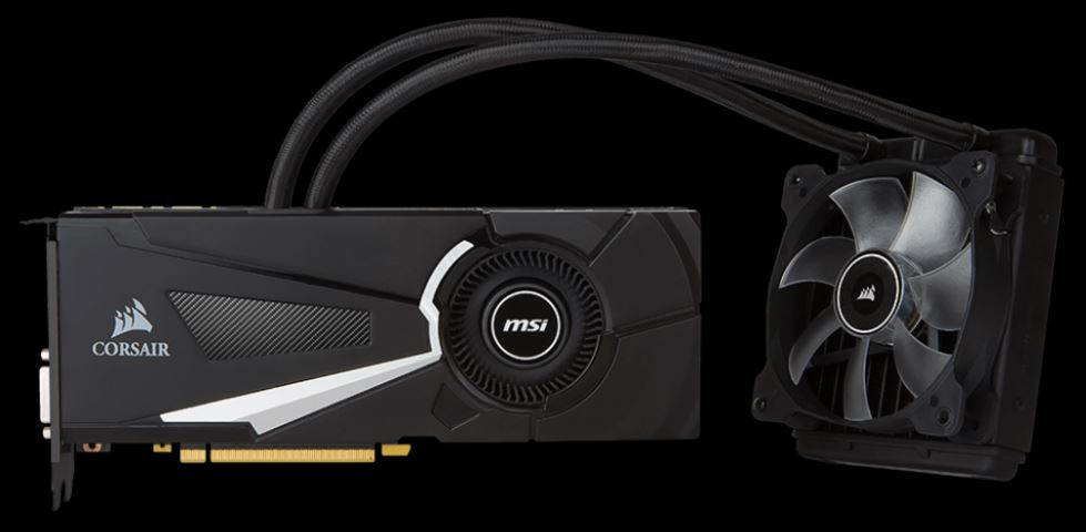 MSI GTX 1070 SEA HAWK X, 8GB GDDR5, 256bit, DVI-D, HDMI, 3xDP