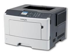 Lexmark MS415dn, mono laser, 1200dpi, 38ppm, 256MB, 800MHz, USB,Duplex,GLan,PP