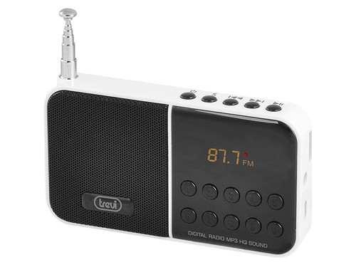 DR 740 SD/WH Digit.radio s MP3 přehráva