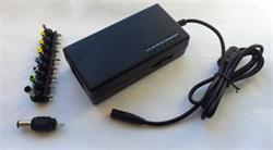 Napájecí univerzální adaptér 96W, AC 110-240V, DC 12-24V, manual
