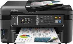 Epson WorkForce WF-3620DWF, A4, All-in-One, NET, duplex, ADF, Fax, Wifi