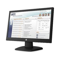 "LCD monitor HP V197, 18.5"", 1366x768, TN LED, 5 ms, 600:1, 200cd, VGA, DVI"