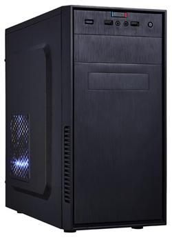 Eurocase MC X201, mATX, bez zdroje, 2xUSB2.0, černá
