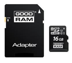 GOODRAM (Wilk Elektronik) Micro SDHC karta 16GB Class 10 UHS-I + adaptér