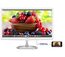 """Philips 276E6ADSS/00 27"""" AH-IPS LED 1920x1080 20 000 000:1 5ms 300cd HDMI DVI bílý"""