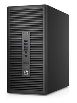 HP ProDesk 600 G2 MT, i5-6500, IntelHD, 4GB, 500GB, DVDRW, KLV+MYS, W10Pro-W7Pro, 3y