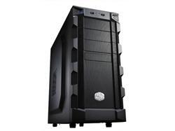 CoolerMaster case miditower K280, ATX, black, USB3.0, bez zdroje