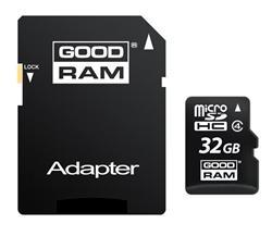 GOODRAM (Wilk Elektronik) Micro SDHC karta 32GB Class 4 + adaptér