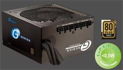 Seasonic zdroj 360W, SEASONIC G-360 ( SSR-360GP ) 80PLUS Gold, ventilátor 120 mm
