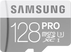 Samsung PRO Micro SDHC karta 128GB Class 10 UHS-I U3