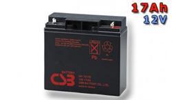 CSB Náhradni baterie 12V - 17Ah GP12170F2 - kompatibilní s RBC7/11/49/50/55