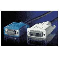 kábel DVI-VGA prepojovací, DVI-I(M)/MD15HD,2.0m