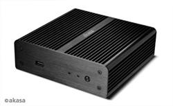 AKASA AK-ITX07-BK, Newton skrinka pre NUC system
