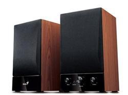 Genius reproduktory HF 1250B, 40W, 2.0, dřevěné