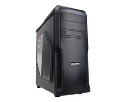 Zalman MidTower Z3 Plus, mATX/ATX, průhledný bok, bez zdroje, černá