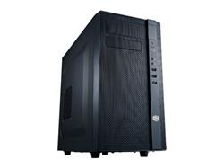 CoolerMaster case minitower series N200, mATX,černá, USB3.0, bez zdroje