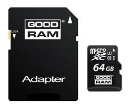 GOODRAM (Wilk Elektronik) Micro SDHC karta 64GB Class 10 UHS-I + adaptér
