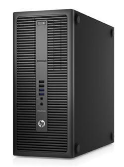 HP EliteDesk 800 G2 TWR, i7-6700, GT730 2GB, 1x8 GB, 256 GB SSD+1 TB, DVDRW, Win10P64D7, usb slim kb