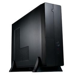 Eurocase MC 8107, mATX, desktop/tower, bez zdroje, černá