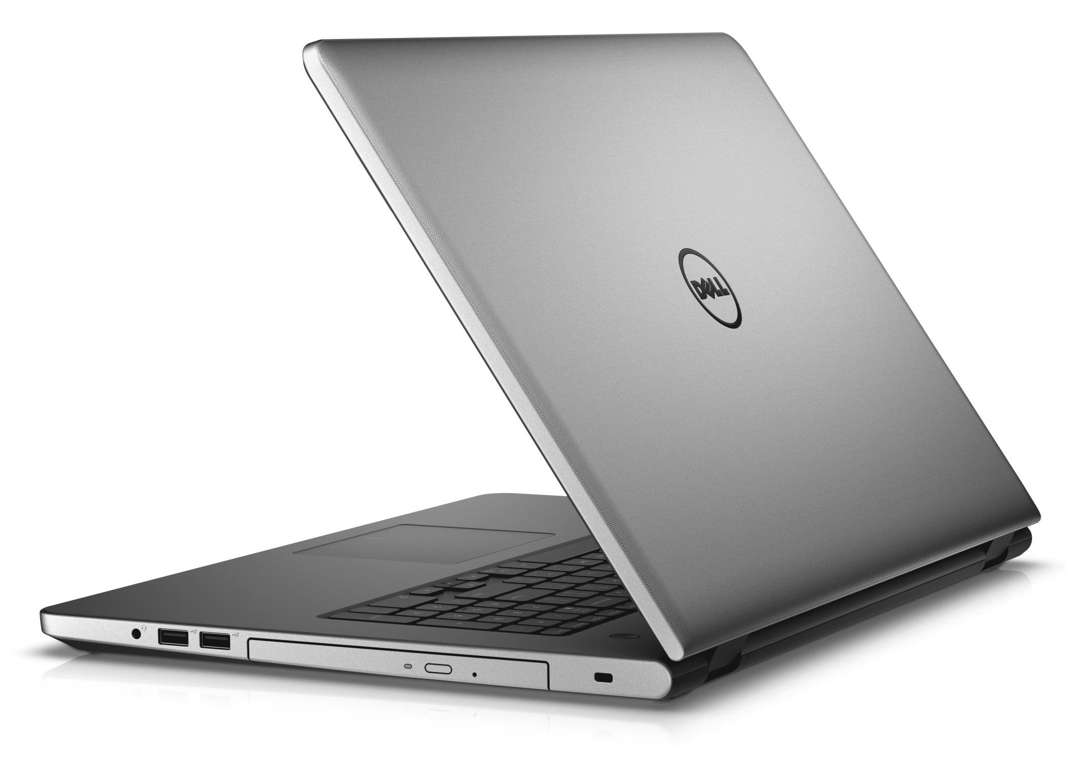 """Dell Inspiron 5759 17"""" FHD i7-6500U/8G/1TB/M335-4G/MCR/HDMI/USB/RJ45/DVD/W10/2RNBD/Stříbrný"""