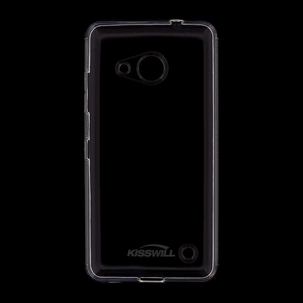 Kisswill TPU Pouzdro Transparent, Nokia Lumia 650