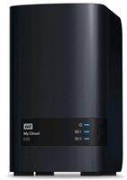 """BAZAR - WD My CLOUD EX 2, 6 TB (2x3TB) 3,5"""", RJ45, NAS"""
