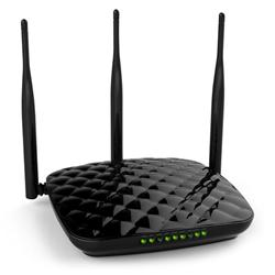 Tenda F452 Wireless-N Gigabit router (3xGbLAN, 1xGbWAN), 1xUSB, 3x5dBi fix.ant, WISP