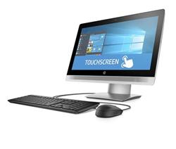 HP ProOne 600 G2 AiO 21.5 T, i3-6100, Intel HD, 1x4 GB, 500 GB, DVDRW, SD MCR, a/b/g/n + BT, Win10P64, usb slim kb