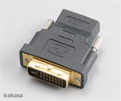 AKASA AK-CBHD03-BK DVI-I - HDMI adaptér