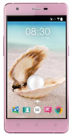 "Accent PEARL růžový, 5"" HD IPS, Quad-core 1,3GHz, Android 5.0, 16GB ROM+2GB RAM,16MP Camera, 2000mAh, LTE"