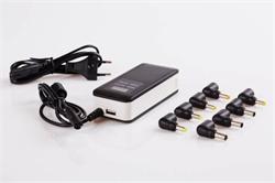Napájecí univerzální adaptér 90W LCD automatic, USB