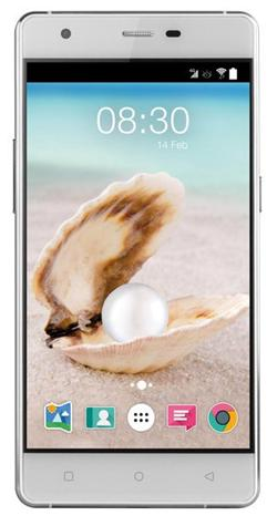 "Accent PEARL bílo-stříbrny, 5"" HD IPS, Quad-core 1,3GHz, Android 5.0, 16GB ROM+2GB RAM,16MP Camera, 2000mAh, LTE"