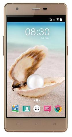 "Accent PEARL zlatý , 5"" HD IPS, Quad-core 1,3GHz, Android 5.0, 16GB ROM+2GB RAM,16MP Camera, 2000mAh, LTE,"