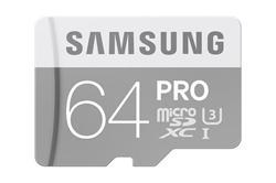 Samsung PRO Micro SDHC karta 64GB Class 10 UHS-I U3
