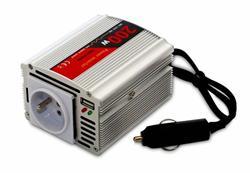 Měnič napětí DY-8103-12, DC/AC 12V/230V, 200W, USB