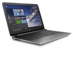 HP Pavilion 15-ab103nc, A8-7410 quad, 15.6 FHD Antiglare, AMD Radeon R5, 4GB, 1TB + 8GB NAND, DVD-RW, W10, Natural silve