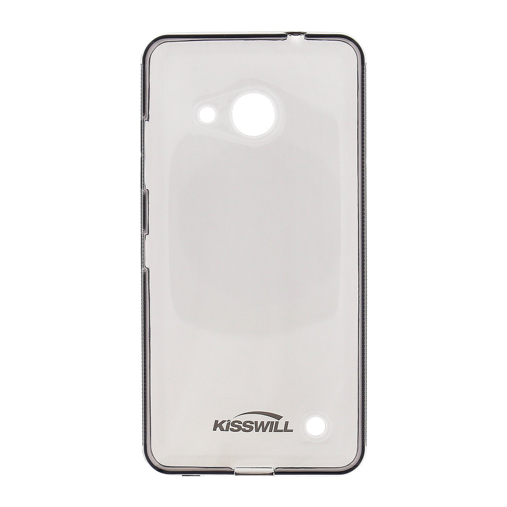 Kisswill TPU Pouzdro Black pro Nokia Lumia 650